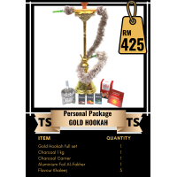Personal Package  - Gold Hookah