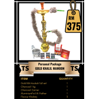 Personal Package  - Gold Khalil Mamoon Hookah