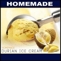 Homemade Durian Ice Cream 50g