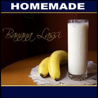 Homemade  Banana Lassi  50g