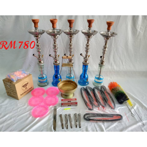 *NEW RESTOCK* PACKAGE- Business Package 5 H00kah